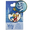Disney Very Merry Christmas Party Pin - 2014 - Donald Duck & Daisy