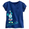 Disney Girls Shirt - Minnie Mouse Quilted Knit Jersey