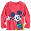 Disney Girls Shirt - Mickey Mouse Long Sleeve