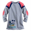 Disney Girls Shirt - Mickey and Minnie Mouse Long Sleeve