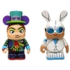 Disney Vinylmation Set - Mad T Party - Mad Hatter and White Rabbit 3''