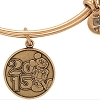 Disney Alex and Ani Charm Bracelet - 2015 Logo - Gold