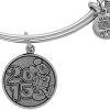 Disney Alex and Ani Charm Bracelet - 2015 Logo - Silver