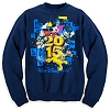 Disney ADULT Sweatshirt - 2015 Walt Disney World - Navy