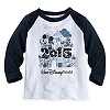 Disney Child Shirt - 2015 Walt Disney World Raglan Tee for Boys