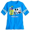 Disney Ladies Tee Shirt - 2015 Mickey and Minnie Mouse Football Jersey