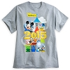 Disney Adult Shirt - 2015 Mickey Mouse and Friends - Grey