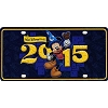 Disney License Plate - 2015 Mickey Mouse Tourist Logo