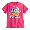 Disney Girls Shirt - 2015 Mickey Mouse and Friends - Pink