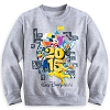 Disney Boys Shirt - 2015 Mickey Mouse and Friends Sweatshirt - Grey
