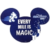 Disney Auto Magnet - RunDisney Every Mile is Magic - 2015