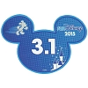 Disney Mini Ears Magnet - runDisney 3.1 - 2015