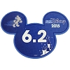 Disney Mini Ears Magnet - runDisney 6.2 - 2015
