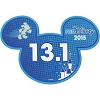 Disney Mini Ears Magnet - runDisney 13.1 - 2015