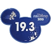 Disney Mini Ears Magnet - runDisney 19.3 - 2015