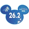 Disney Mini Ears Magnet - runDisney 26.2 - 2015