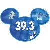 Disney Mini Ears Magnet - runDisney 39.3 - 2015