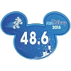 Disney Mini Ears Magnet - runDisney 48.6 - 2015