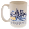 Disney Coffee Cup Mug - WDW Marathon Weekend - 2015