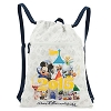 Disney Backpack Bag - Dated 2015 Walt Disney World Cinch Bag