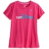 Disney LADIES Shirt - RunDisney - Pink