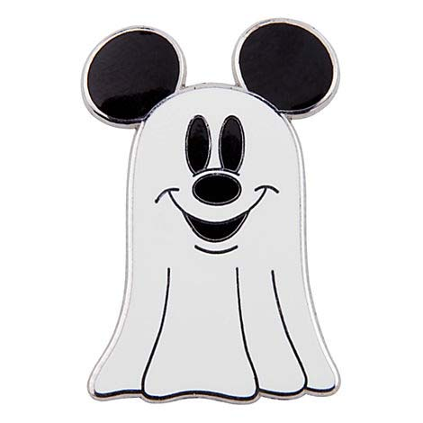 Disney Halloween Pin Mickey Ghost