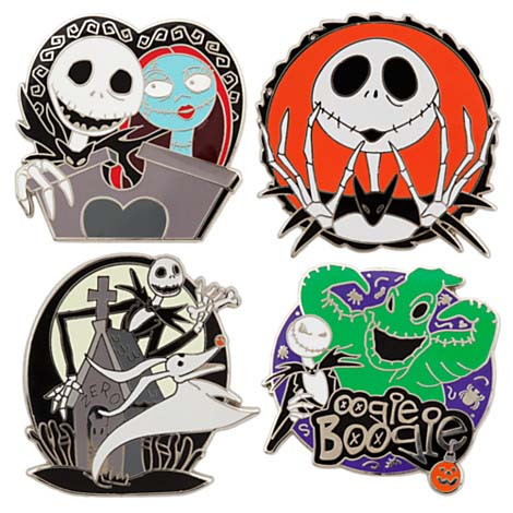 Your WDW Store - Disney Pin Trading Starter Set - The Nightmare ...
