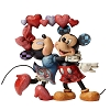 Disney Traditions by Jim Shore Figurine - Mickey & Minnie w/Hearts