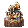 Disney Figurine - Traditions by Jim Shore - Caroling Carved by Heart