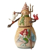 Disney Traditions by Jim Shore Figurine - Little Mermaid Snowman