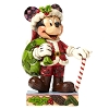 Disney Figurine - Traditions by Jim Shore - Christmas Mickey