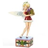 Disney Figurine - Traditions by Jim Shore - Tinker Bell with Present