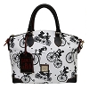 Disney Dooney & Bourke Bag - Flower & Garden Bicycles - Satchel