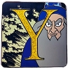 Disney Mystery Pin - Character Alphabet - Y - Yensid Chaser