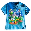 Disney TODDLER Shirt - Storybook Mickey and Friends - Tie-Dye Blue
