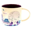 Disney Coffee Cup Mug - Starbucks You Are Here - Epcot PURPLE MONORAIL