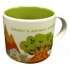 Disney Coffee Cup Mug - Starbucks You Are Here - Animal Kingdom