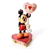Disney Traditions by Jim Shore Figurine - Mickey with Heart Balloon