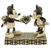 Disney Traditions by Jim Shore Figurine - Mickey and Minnie Mouse