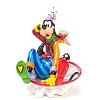 Disney by Britto Figure - Goofy in Disk Sled
