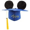 Disney Hat - Ears Graduation Cap - Class of 2015 - Mortarboard