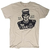 Disney ADULT Shirt - Hollywood Tower of Terror - Bellhop - Tan