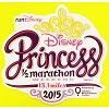 Disney Auto Magnet - WDW Logo Icon - Princess 1/2 Marathon Weekend