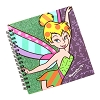 Disney Britto Notebook - Tinker Bell Spiral