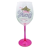 Disney Wine Glass - Princess Half Marathon 2015