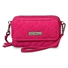 Disney Vera Bradley Bag - Microfiber Mickey Fuchsia - All in One Crossbody