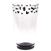 Disney Tumbler Glass - Mickey Mouse Icon - Black