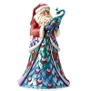 Disney Figurine - Traditions by Jim Shore - Santa with Peacock