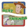 Disney Best Friends Pin - Toy Story - Buzz Lightyear and Woody