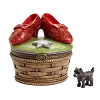 Disney Figurine - Traditions By Jim Shore - Ruby Slippers Treasure Box